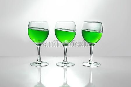 glas baeger drikkeglas drikke drukket gron