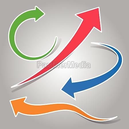 grafik illustration pile ikon garniture anstecker
