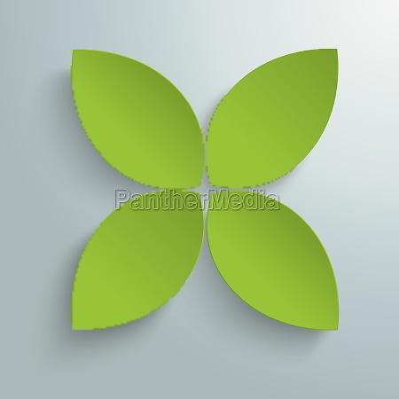 green cross leaves piad
