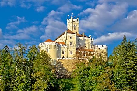 faestning kroatien citadel kastel natur castle