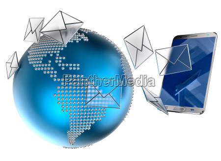 e mail eller sms sendt til