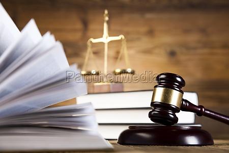 gavel lov tema hammer af dommer