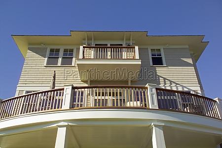lav vinkel udsigt over balkon i
