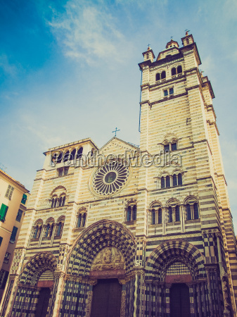retro look st lawrence cathedral in