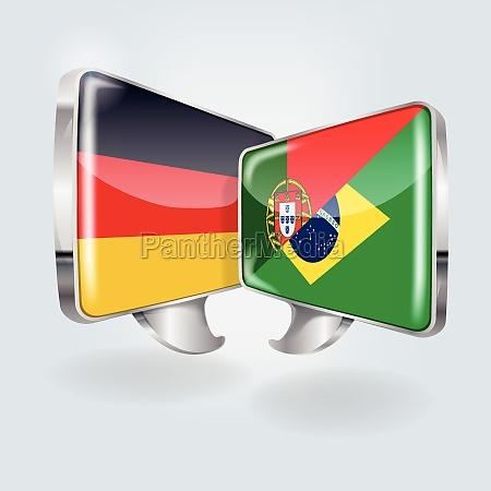 talebobler pa tysk portugisisk og brasiliansk