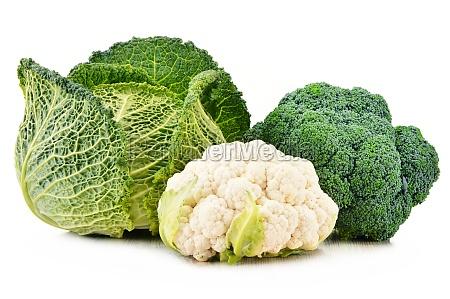 friske okologiske grontsager isoleret pa hvid