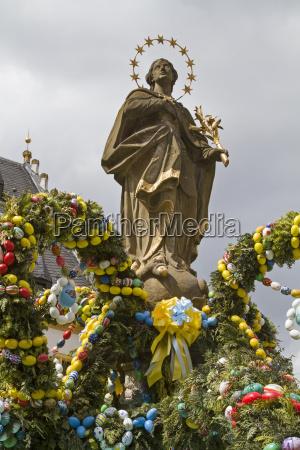 paske dekoration franc
