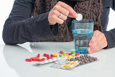 mange forskellige medikamenter