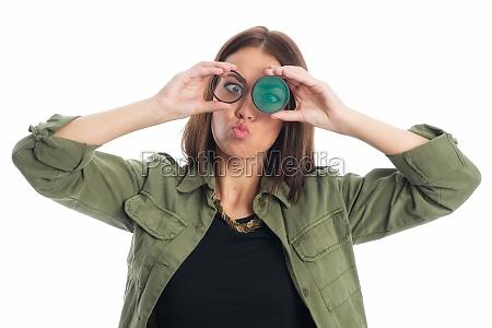 kvinde vittig filter underlig sjov komisk