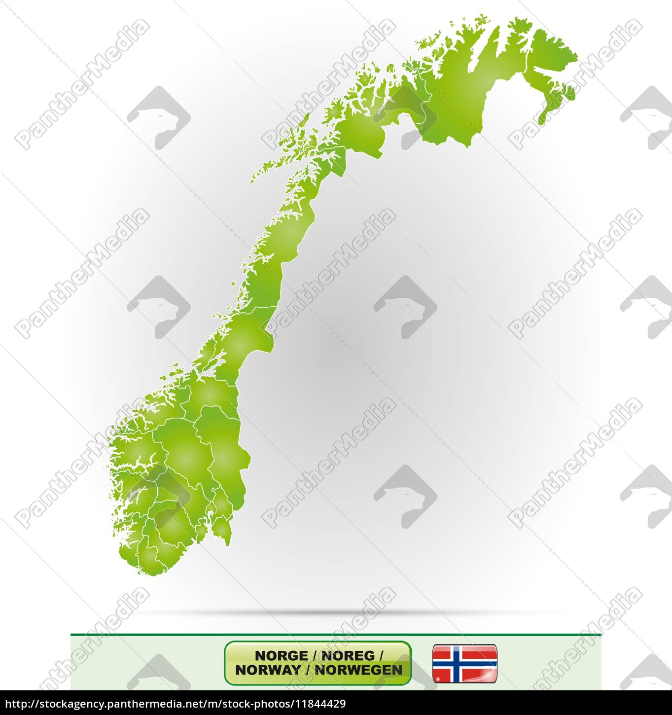 Kort Over Norge Kort Over Europa Billede 2020 03 24