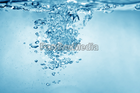 vand bobler baggrund