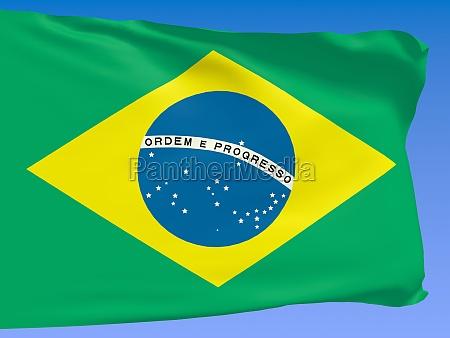 fane flag brasilien staten country tilmeld