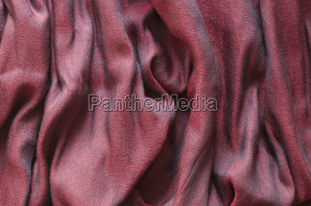 red cashmere with textured