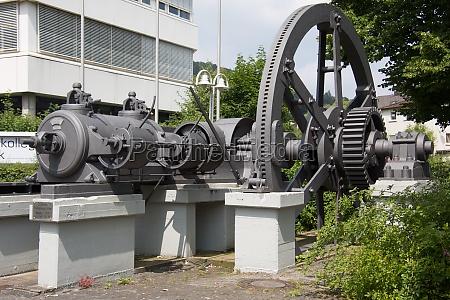 industri drivvaerk maskine motor skrue damp