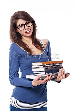 portrait of female student