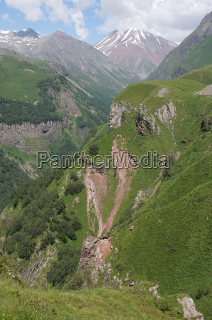 cross pass kaukasus georgien europa