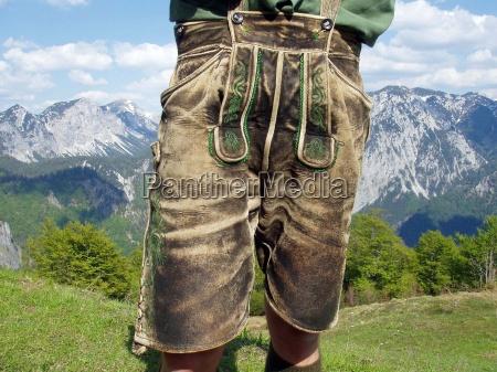 mann, männer, lederhosen, lederhose, tracht, mode, steiermark, brauch, brauchtum, volkskultur - 12381234