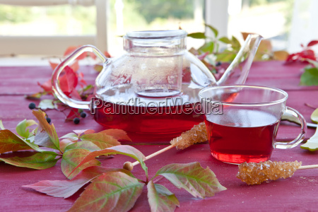 varm te om efteraret