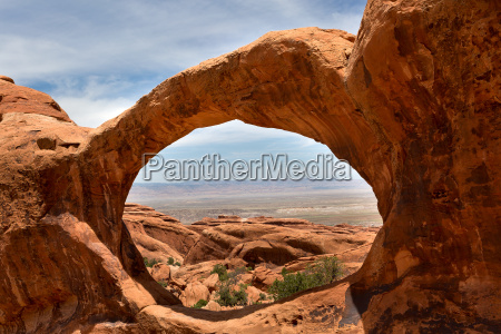 landskab set gennem upper double o