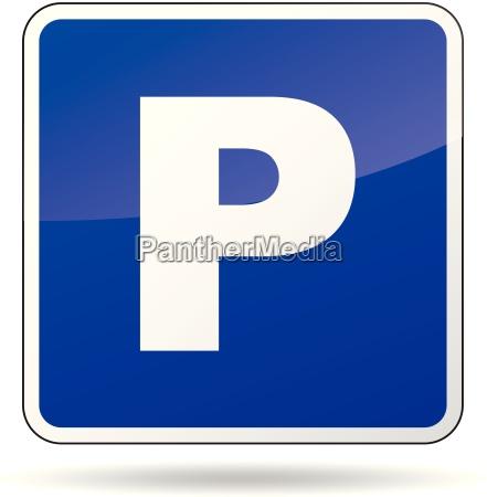 vector parkeringsskilt