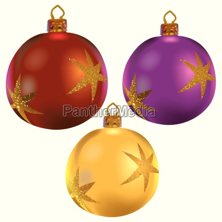 ornamentik dekoration ornament juletid juletraeskugle krolle