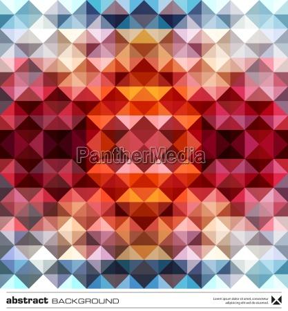 streszczenie kolorowe trojkaty tla wektor