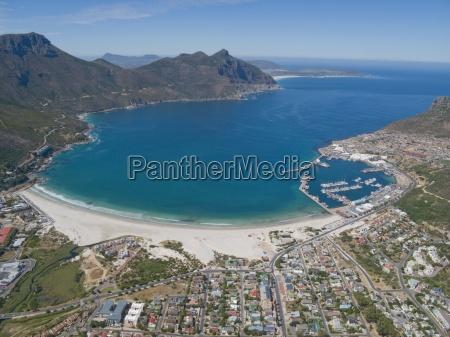 luftfoto af hout bay cape town