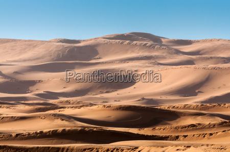 dunes i sahara marokko afrika