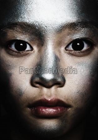 makrooptagelse close up naerbillede farve portraet