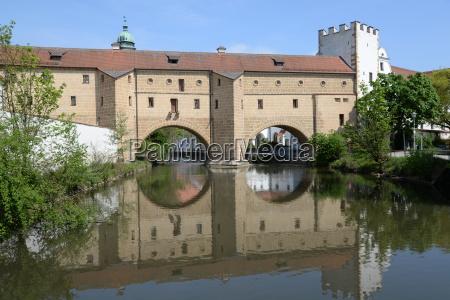 gamle by baek bayern tyskland den