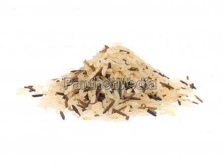 naerbillede af lange ris blandet med