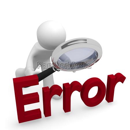 error search