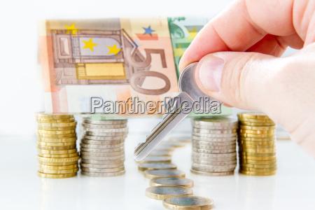 chiave di denaro