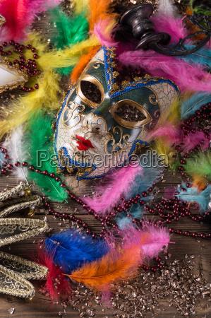 carnival maske