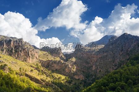 mallorca tramuntana mountains