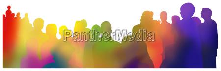mennesker folk personer mand grafik farverig