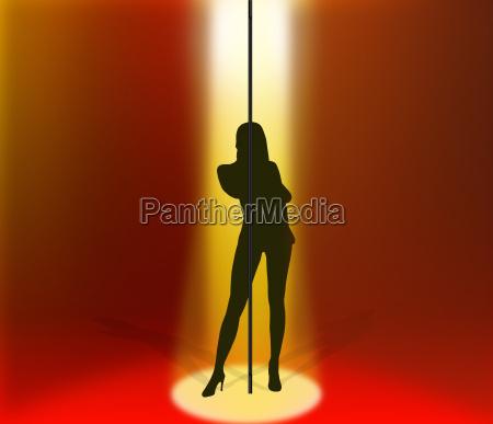 kvindelig intimitet kvindelige striptease stripper afisoleringstang