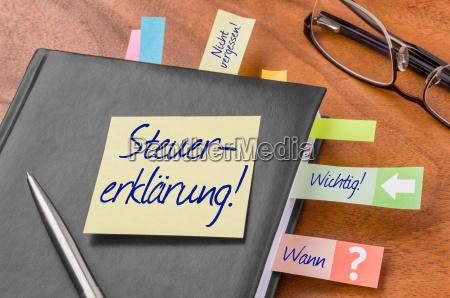 kontor note bemaerke notere bemaerkning anmaerke