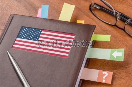 usa amerika flag politik dagbog dato