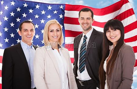 portraet af erhvervsfolk group