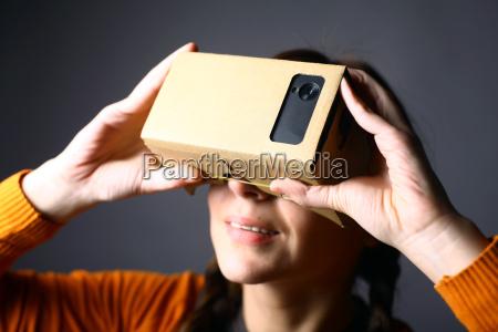 telefon teknologi mobilfunk virkelighed pap karton