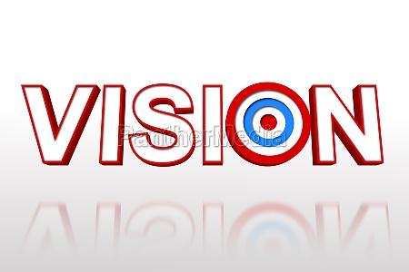 ordet vision med target