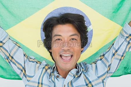 fnise smiler med succes vellykket makrooptagelse