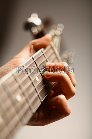 akustisk guitar detalje