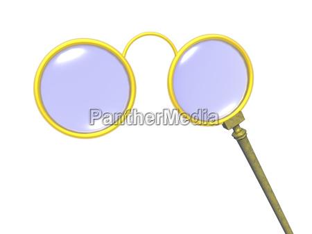 lorgnette stil skibriller gratis