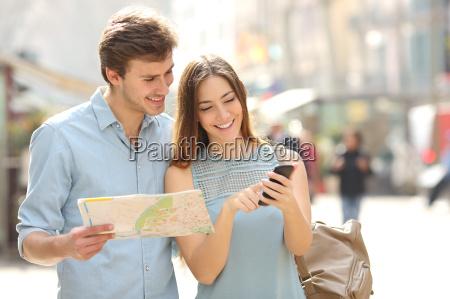 par turister radgivning en by guide