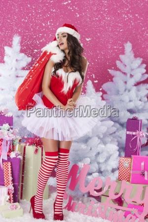 jeg kommer med julegaver