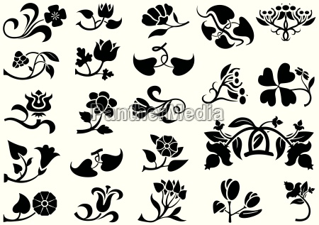flower pictograms
