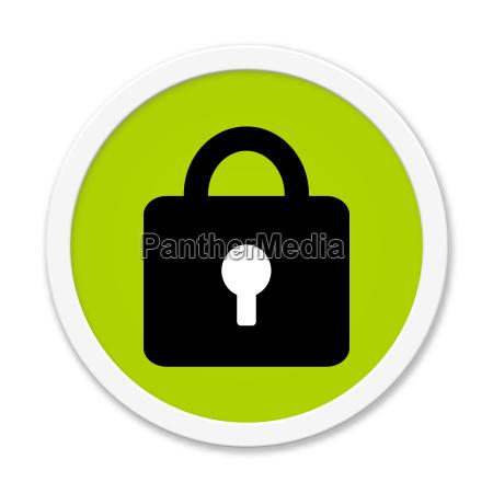 sikker beskytte knappen sikret ufarlig beskyttende