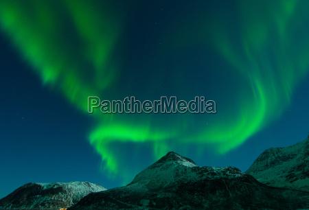 aurora over grotfjord